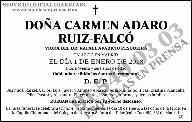 Carmen Adaro Ruiz-Falcó
